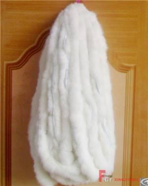 Rex Rabbit Fur Piping