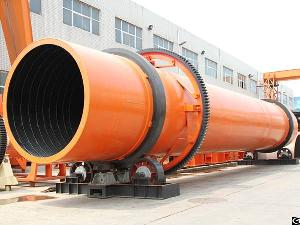 Rotary Dryer Machine Industrial Drying Machine Roller Dryer For Clay, Coal Slurry, Sludge, Gypsum