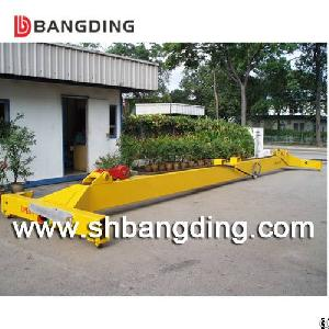 Iso Standard Semi-automatic Container Spreader I Type Mechanical Container Lifter