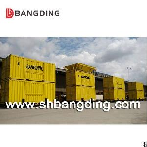 portable bagging 50kg harbor containerized movable weighing machine