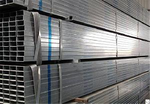 dipped galvanized steel rectangular pipes