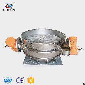 600mm sand vibrating sieve filter machine powder