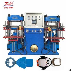 heads silicone dog tags pressing machine