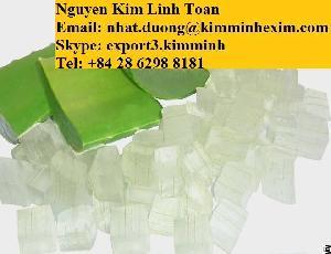 frozen aloe vera dice chunk peel water syrup puree