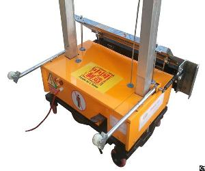 wall plastering machine manufacture