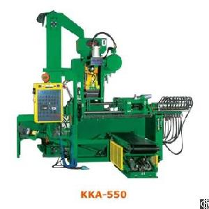 Core Shooting Machine And Shell Molding Machine Kka-550 Vertical