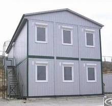 prefabricated modular building house container steel structure frame