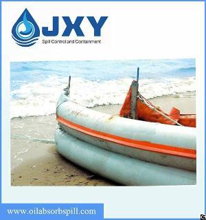 Beach Oil Spill Containment Boom