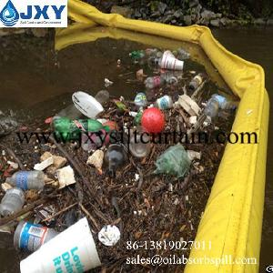 floating trash containment boom