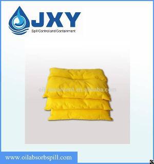 hazmat chemical absorbent pillow