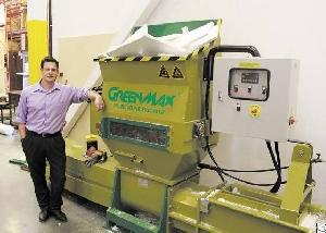 greenmax apolo c200 compactor waste foam recycling