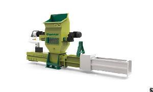 greenmax styrofoam recycling machine zeus c100 compactor