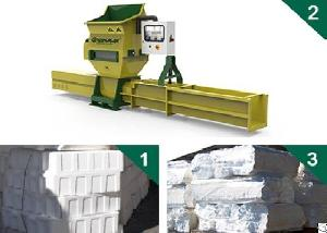 styrofoam recycling greenmax apolo c200 compactor