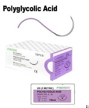 polyglycolic acid sutures