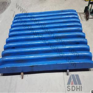 Metso C Series Movable / Fixed Jaw Crusher Plate Pn814390435200, Pnn11928918, Pnn11954353