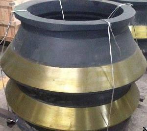sandvik s4800 cone crusher mantle bowl liner concave ring