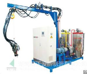 pressure metering machine