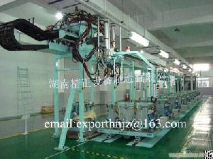 Linear Pu Production Line For Refrigerator Door And Cabinet