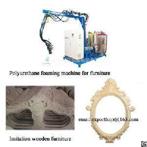 Pu Foaming Machine For Imitation Wooden Furniture