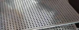 perforated sheet aluminum