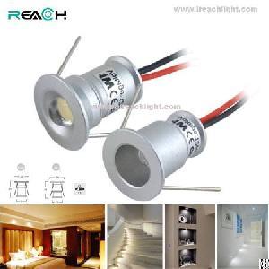 mini led spotlight 3v 350ma 1w star light stair decoration lighting