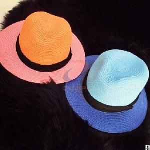 wholesale fedora hat colorful assorted colors