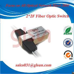 Glsun 2x2f Fiber Optical Switch