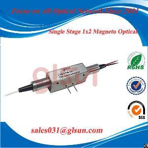 glsun 1x2 magneto fiber optic switch