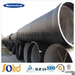 en545 ductile iron pipe class k9 c25 c30 c40 socket spigot water
