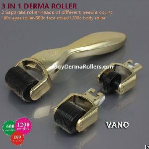 titanium micro needle 180 600 1200 needles 3 1 kit derma roller