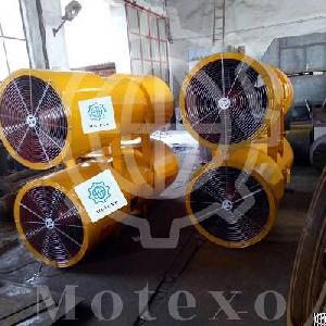 explosion proof ventilation fan tunnel