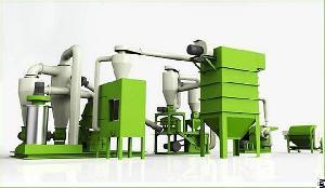 pcb recycling machine line plant