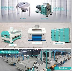 Grain Processing Machinery / Flour Mill Machinery