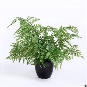 fake fern bonsai plastic