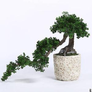 plastic cascade pine tree