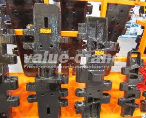 China Track Shoe Track Pad For Cranes Fuwa Quy80