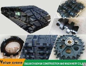 Crawler Crane Kh300-3 Track Roller Forging Crawler Crane Parts