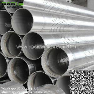 supplier perforated pipe ductile iron iso9001