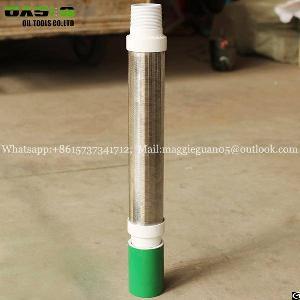 tp304 grade pipe screen slip v wedge wire tube