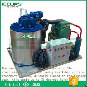 Seawater Ice Flake Maker Machine