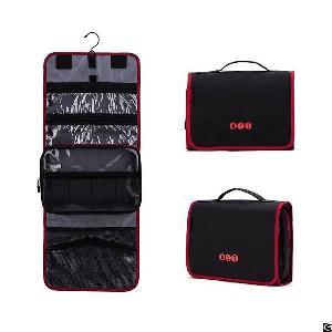 hanging travel toiletry bag carry makeup organizer folding cosmetic