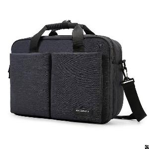 Laptop Briefcase Water-repellent Light Weight Computer Bag Shoulder Expandable Extra Large