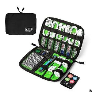 travel cable organizer portable electronics hard drives usb charger cases