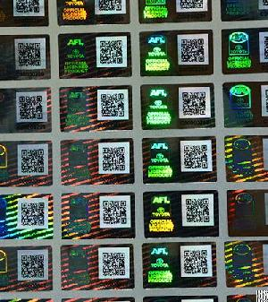technology hologram sticker