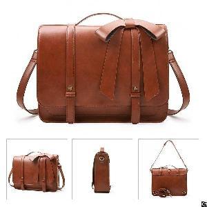 ladies briefcase pu leather laptop backpack shoulder satchel crossbody bag