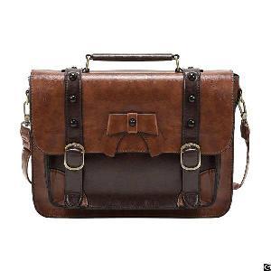 Vintage Crossbody Messenger Bag Satchel Purse Handbag Briefcase For Women