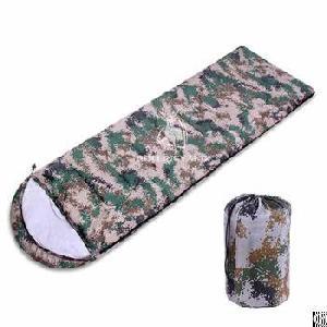 Single Envelope Digital Camouflage Sleeping Bag H89