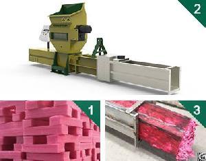styrofoam epe compactors greenmax zeus