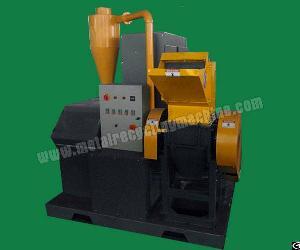 ams400 scrap copper wire granulator