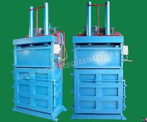 hydraulic vertical baling machine
